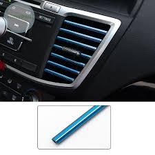 <b>10pcs</b>/<b>Set</b> Auto Parts Car Colorful <b>Air</b> Conditioning <b>Air Outlet</b> Trim ...