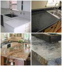 how to paint any countertops to look like granite diy