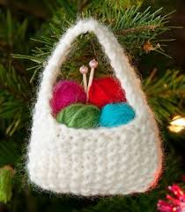 What better way to showcase that passion than by making adorable knitting  themed ornaments for your tree?