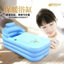 large inflatable bathtub toddler spa folding portable bathtub inflatable bath tub pool with zipper cover