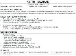 Pilot Resume Template Custom Sample Airline Pilot Cover Letter Airline Pilot Resume Airline Pilot