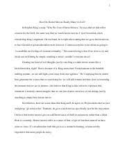 heroism in le morte d arthur essay heroism in le morte darthur  2 pages stephen king why we crave horror movies essay