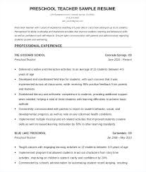 Resume Templates For Educators Unique Sample Resume Format For Teachers Best Resume Format For Teachers