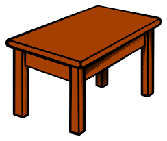 school table clipart. Wonderful Clipart 28 Collection Of Clipart Of A Table  High Quality Free Cliparts  To School A