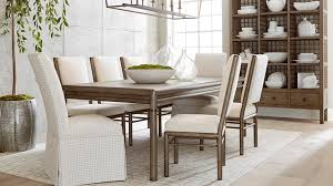 peninsula rectangular dining table
