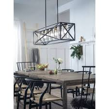 black linear chandelier lighting collection 5 light black linear chandelier free today portfolio 265
