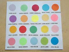 Optix Paper Colour Chart 13 Best Products Available At House Of Paper Images In 2013