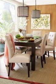 pier parsons dining table is a great place to enjoy some fresh fruit maybe because it s handcrafted of mango wood and our mason dining chairs are always in