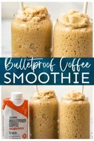 Pulse ice crush setting until solid ingredients begin to breakdown. Bulletproof Coffee Smoothie 2 Ways Thedirtygyro