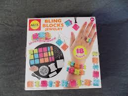 ALEX Bling Blocks Jewelry Kit 133t Lego Jewelry for sale online   eBay