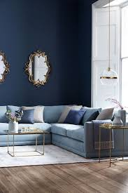 A standalone large wooden letter filled with beautiful artificial roses. These Blue Wall Paint Ideas Will Inspire You To Take The Plunge The Urban Guide