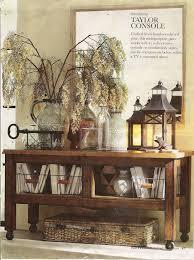 sofa table decor pottery barn. Pottery Barn Entry Console Table Storage House Ideas 2015 Sofa Decor
