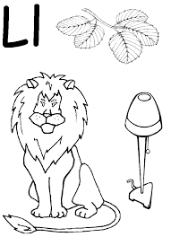 Letter A Coloring Pages For Preschoolers#416798