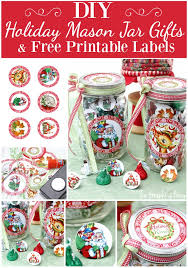 Decorating Canning Jars Gifts Printable Candy Jar Labels For The Holidays The Graphics Fairy 92