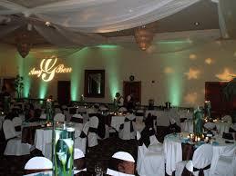 diy wedding reception lighting. Ambient UpLighting With Custom Monograms From Edge Diy Wedding Reception Lighting
