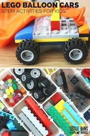 Balloon Car Design Challenge Girl Scouts Make A Lego Balloon Car Little Bins For Little Hands