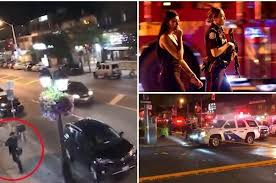 Image result for Canada Mass Shooting: A gunman has shot 14 people in Toronto's Greektown district before turning the gun on himself.