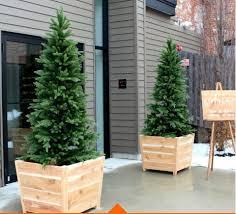 cedar wood planters