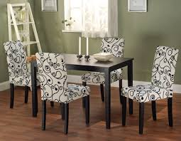 a look at upholstered kitchen chairs styling up your cool dining regarding room decor 8