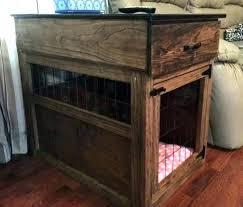 diy dog kennel dog kennel table incredible dog kennel table end table dog crate awesome dog diy dog kennel