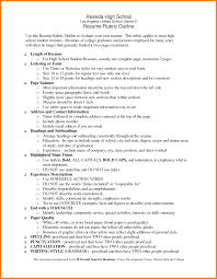 Ultimate High School Resume Skills On 9 High School Resume Skills