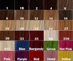 Ombre Weave Color Chart Ombre Hair By Envee Beauty Envee Beauty Salon Bar Cosmetics