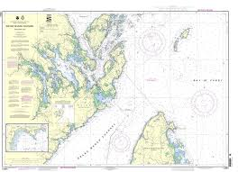 Noaa Chart 13394 Grand Manan Channel Northern Part North Head And Flagg Cove