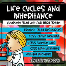 Ngss Gr3 Life Cycles And Inheritance Glad Unit
