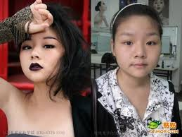 ulzzang before and after she s pretty with or without makeup on