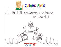 Bible Memory Verse Coloring Page The