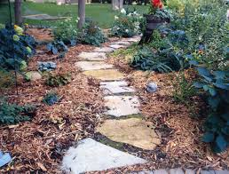 natural flagstone walkway s are endless steppers pavers tiling in patios pond borders water features planters edging and other landscaping