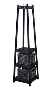 Coat Rack Office Amazon H100O Coat Rack Tower Free Standing with 100 Storage Baskets 93