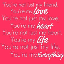 Quotes On Valentines Day Custom You Are My Everything Valentines Day Valentines Day Quotes Happy