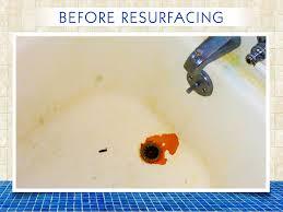 tub chip repair before
