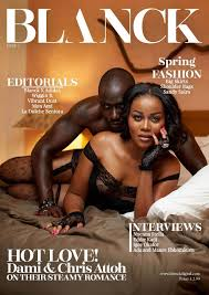 The Sexiest Couple Ever Chris Attoh Damilola Adegbite Cover.