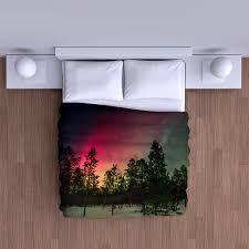 aurora borealis northern lights duvet cover soft bedding comforter duvet 1