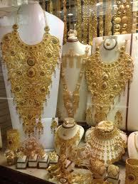 Dubai Gold Jewellery Designs Photos Gold Souk Dubai Dubai Gold Jewelry Arabic Jewelry Gold
