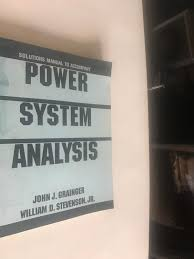 Power System Analysis Design Solution Manual Solutions Manual To Accompany Power System