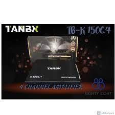 Buy TANBX K-1500.4 2000W 4 CHANNEL AMPLIFIER