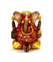 collectible india ganesha statue1 ft big large wooden ganesh idol lord ganesha statue hindu ganesh