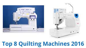 8 Best Quilting Machines 2016 - YouTube & 8 Best Quilting Machines 2016 Adamdwight.com