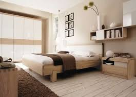 Neutral Bedroom Modern Neutral Bedroom With Wood Accent Wall With Beautiful Woodsy
