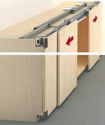 basic fitting with e drive electric sliding door drive