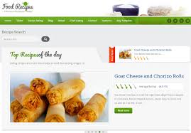 Top 5 Recipe Cooking Food Nutrition Html5 Templates Thats Journal