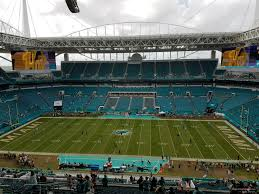 Miami Dolphins Hard Rock Stadium Seating Chart Hard Rock Stadium Section 317 Miami Dolphins