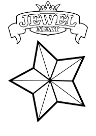 printable star free printable star coloring pages for kids