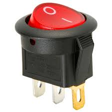 spst round rocker switch w red illumination 125vac 060 716 alt 0 jpg