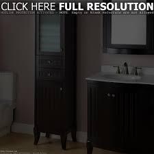 Bathroom Floor Cabinet Espresso