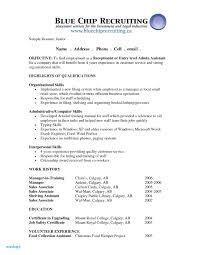 Sample Resume For Entry Level Medical Receptionist New Entry Level