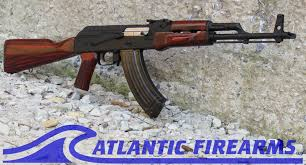 Romanian AK 47 Rifle w Russian Red Furniture